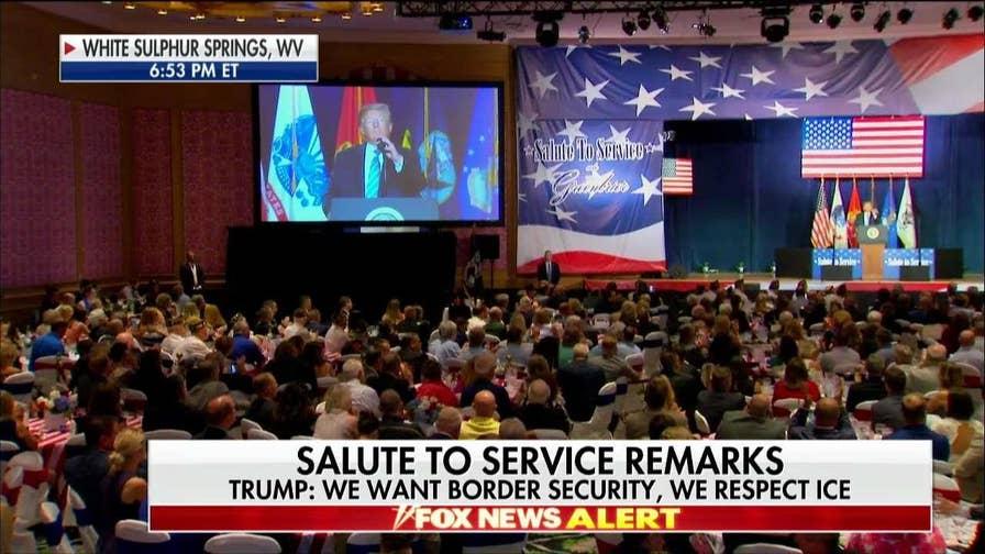Trump Honors Iwo Jima Hero Woody Williams