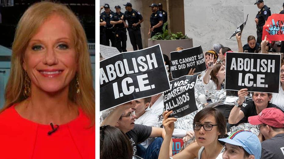 Conway responds to Democrats' calls to abolish ICE