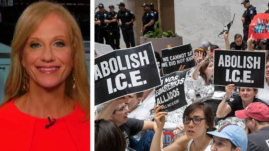 Conway responds to Democrats' calls to abolish ICE