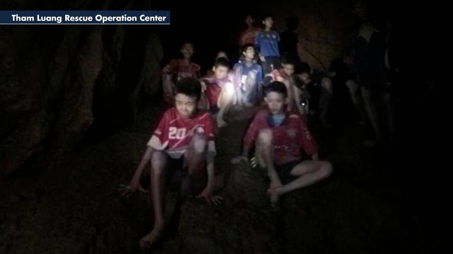Efforts under way to rescue youth soccer team stuck in cave