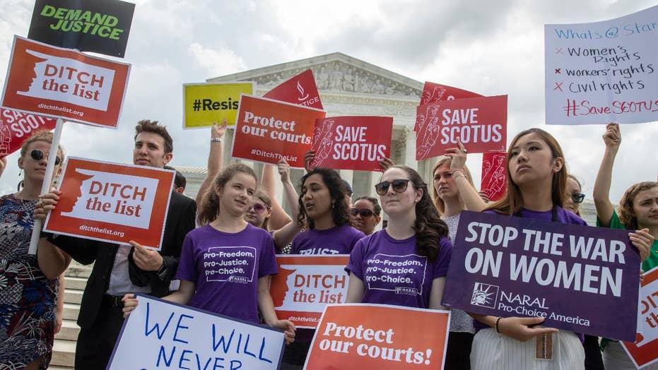 Supreme Court battle centered on Roe v. Wade