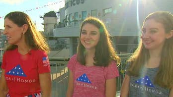 Daughters of Major Larry Bauguess, who was killed in Afghanistan, get full scholarships and Fox News chief meterologist Rick Reichmuth adds to the cause.
