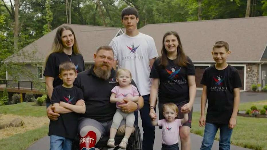 Double amputee veteran given custom smart home