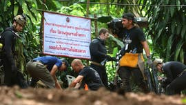 A rescue effort to free 12 youth soccer players and their 25-year-old coach, who have been trapped in a cave in northern Thailand for two weeks, was underway Sunday, according to reports.