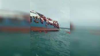 The captain tried to steer the stricken boat toward shore, grounding it less than a mile from land; 139 passengers were saved, but at least 29 people didn't make it.