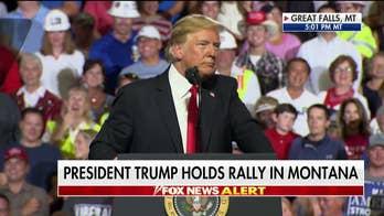 Trump Blasts 'Pocahontas' Elizabeth Warren at Montana Rally