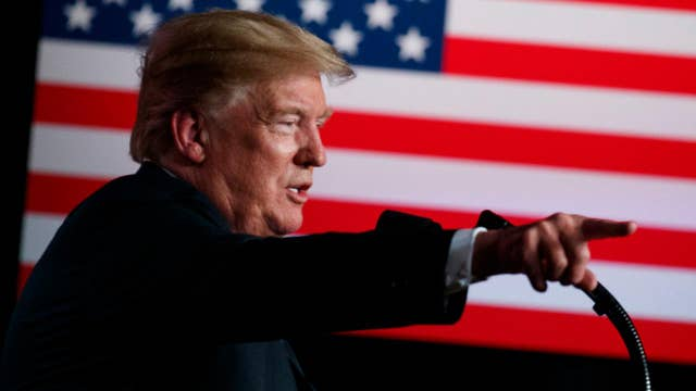 President Trump speaks at 'Make America Great Again' Rally