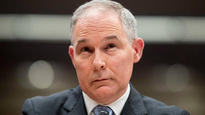 Trump: EPA chief Scott Pruitt resigns