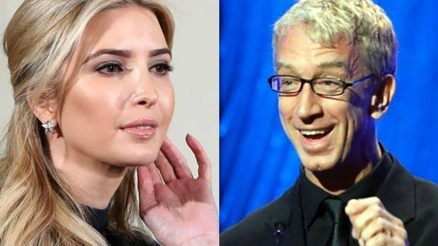 A video of Andy Dick rubbing Ivanka Trump's leg on the Jimmy Kimmel show has resurfaced.  This comes as the comedian is currently being charged with allegedly groping a woman on a sidewalk.