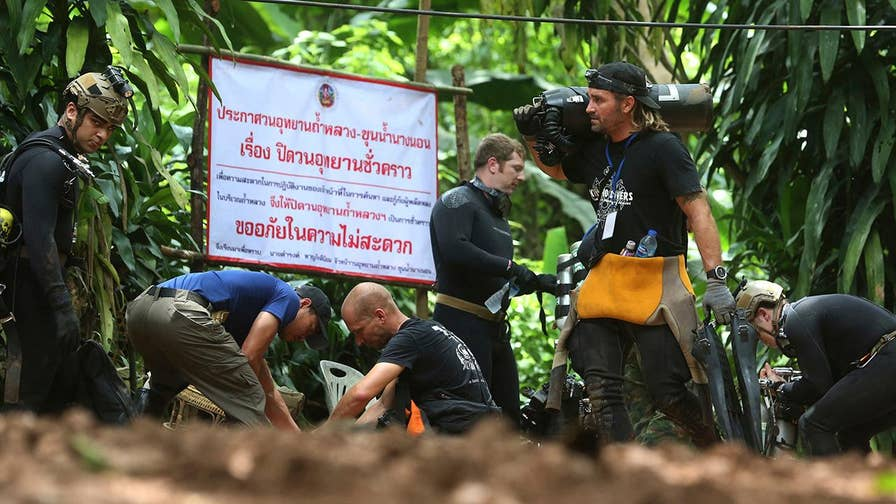 Anmar Mirza, national coordinator for the National Cave Rescue Commission, explains why retrieving the stranded team is no easy task.