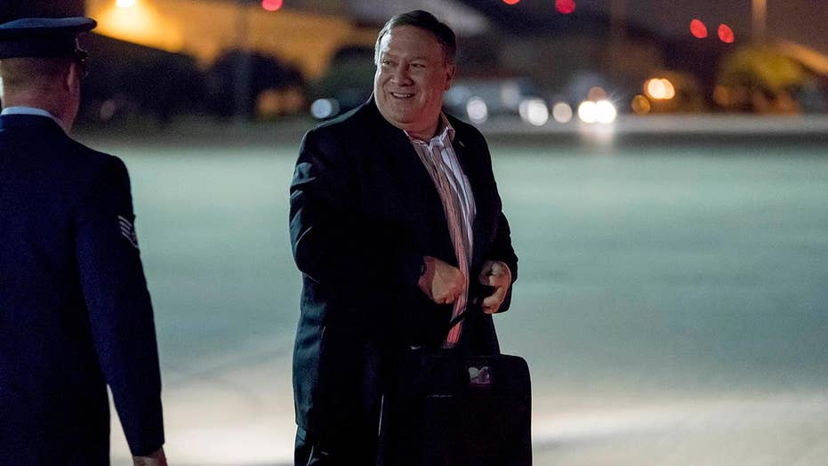 Pompeo makes third trip to North Korea