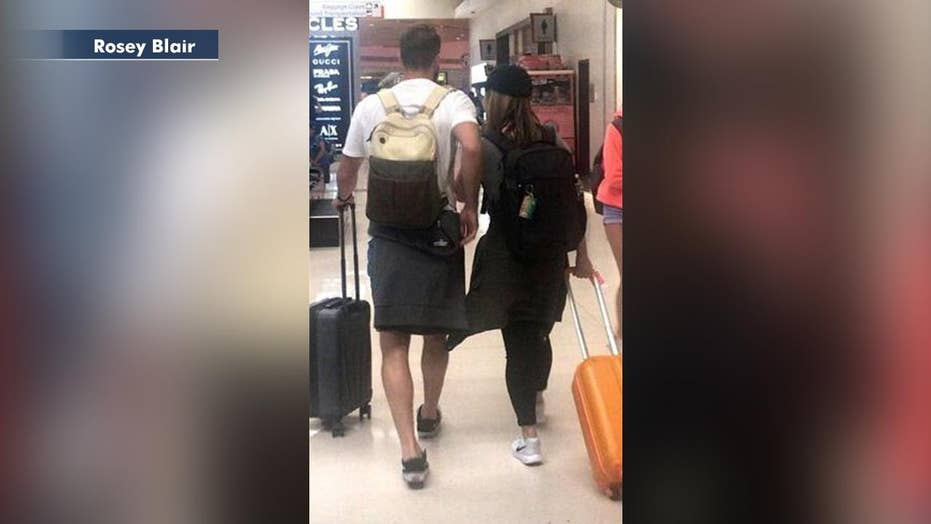 Woman plays accidental matchmaker after trading airline seat