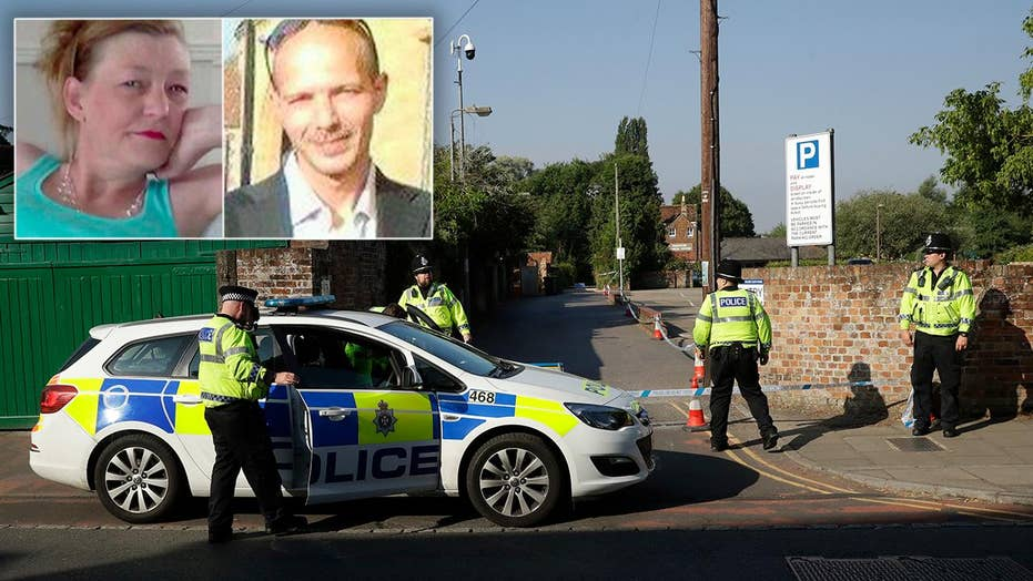 Police: UK couple poisoned by toxin in nerve agent