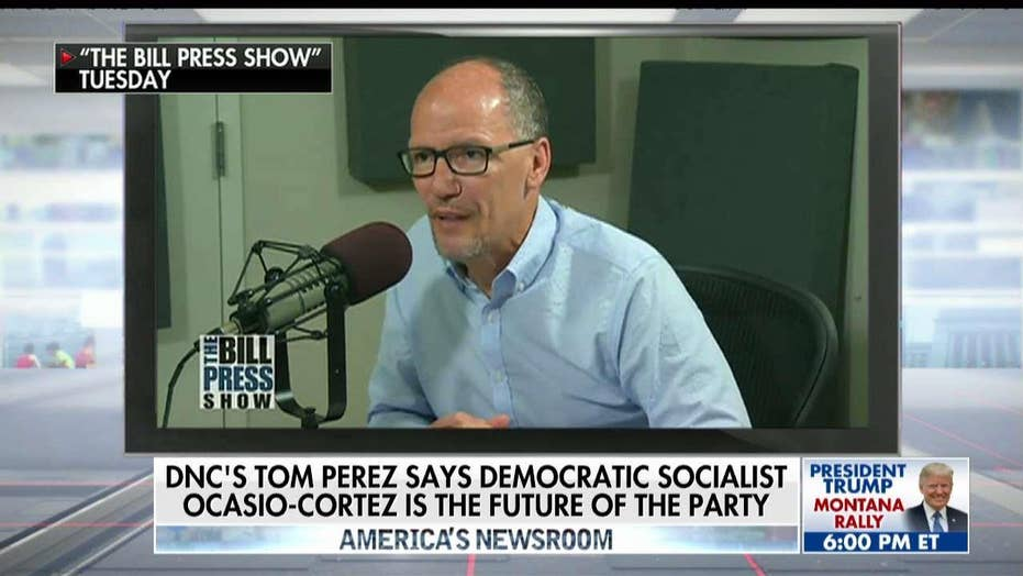 Perez says candidates like Ocasio-Cortez are the