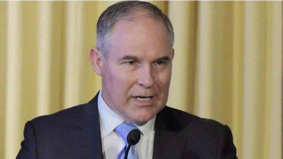 Trump accepts Scott Pruitt's resignation