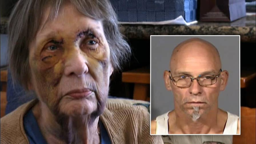 53-year-old Las Vegas man arrested in connection to violent attack on elderly woman.