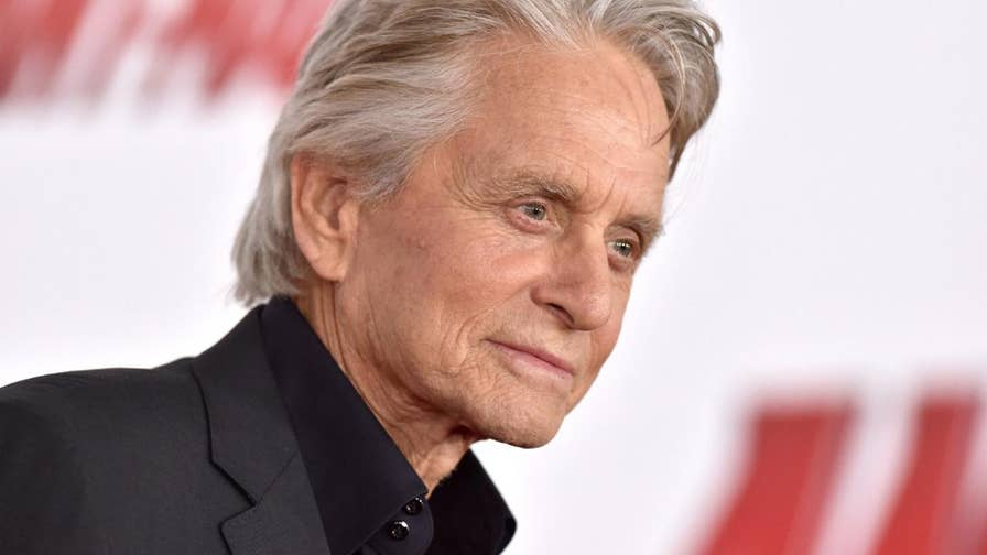 Michael Douglas is looking forward to fans seeing the new 'Ant-Man and the Wasp' action flick starring Paul Rudd, Evangeline Lilly and himself. He's hoping people will to break away from their daily practices and distract themselves from the world, even if it's just for a few hours.