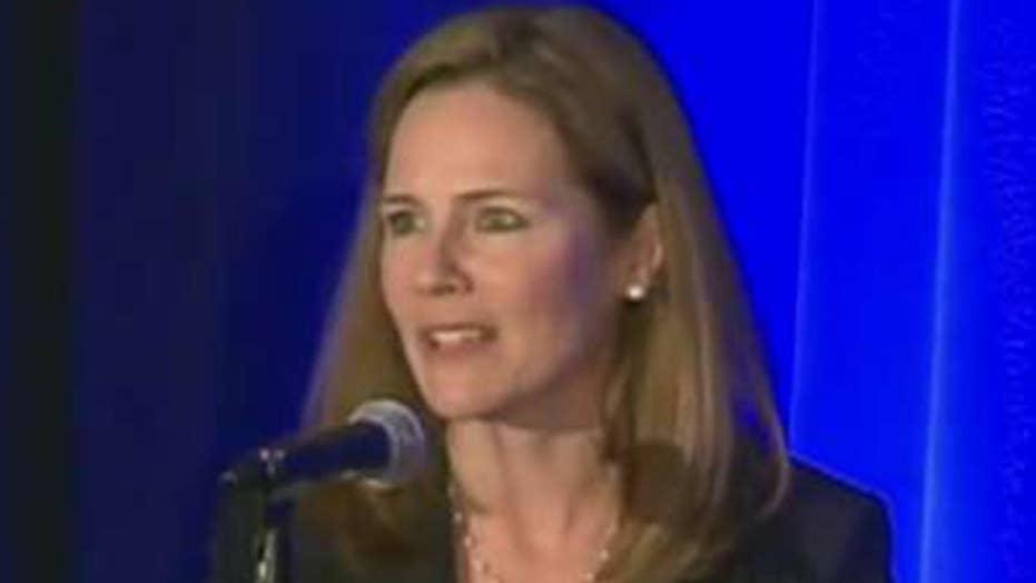 Democrats target SCOTUS candidate Amy Coney Barrett