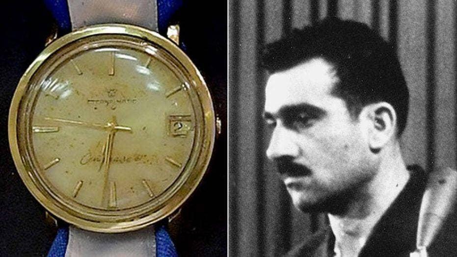 Israeli operation recovers watch of legendary 1960s spy