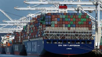 U.S. and China implement dueling tariffs on $34 billion worth of imports from each country.