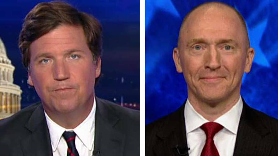 Report says emails show pressure in the FBI to probe the 2016 Trump campaign; Carter Page reacts on 'Tucker Carlson Tonight.' #Tucker