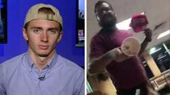 16-year-old was attacked by a man at a San Antonio burger joint for wearing a 'Make America Great Again' hat. Hunter Richard shares his story.