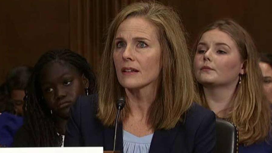 Supreme Court surrogate for Judge Amy Coney Barrett discusses the potential SCOTUS pick's previous decisions.