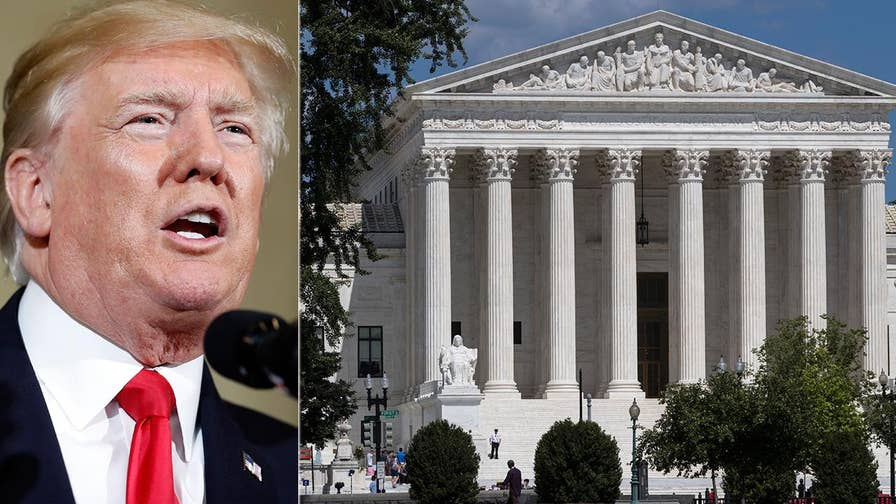 President Trump prepares to reveal his choice for the Supreme Court; reaction and analysis on 'America's News HQ.'