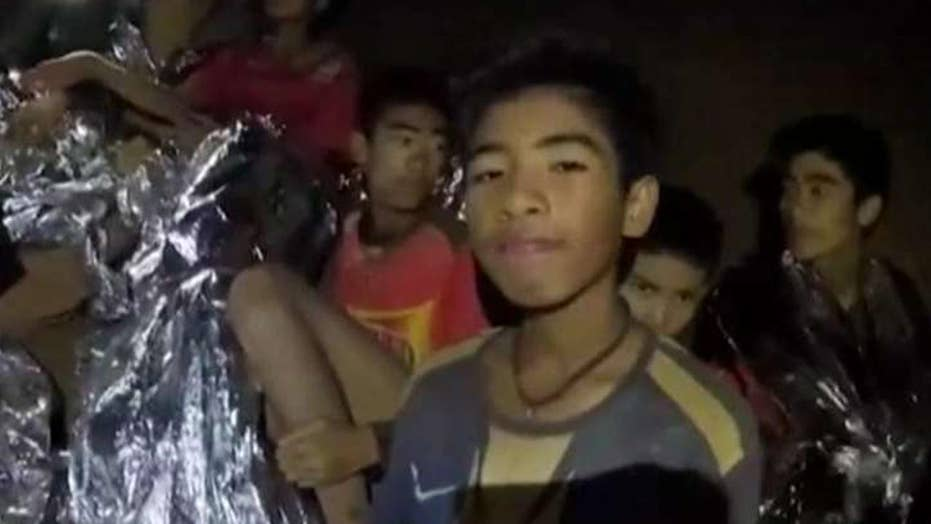 What health issues might boys rescued from cave face?