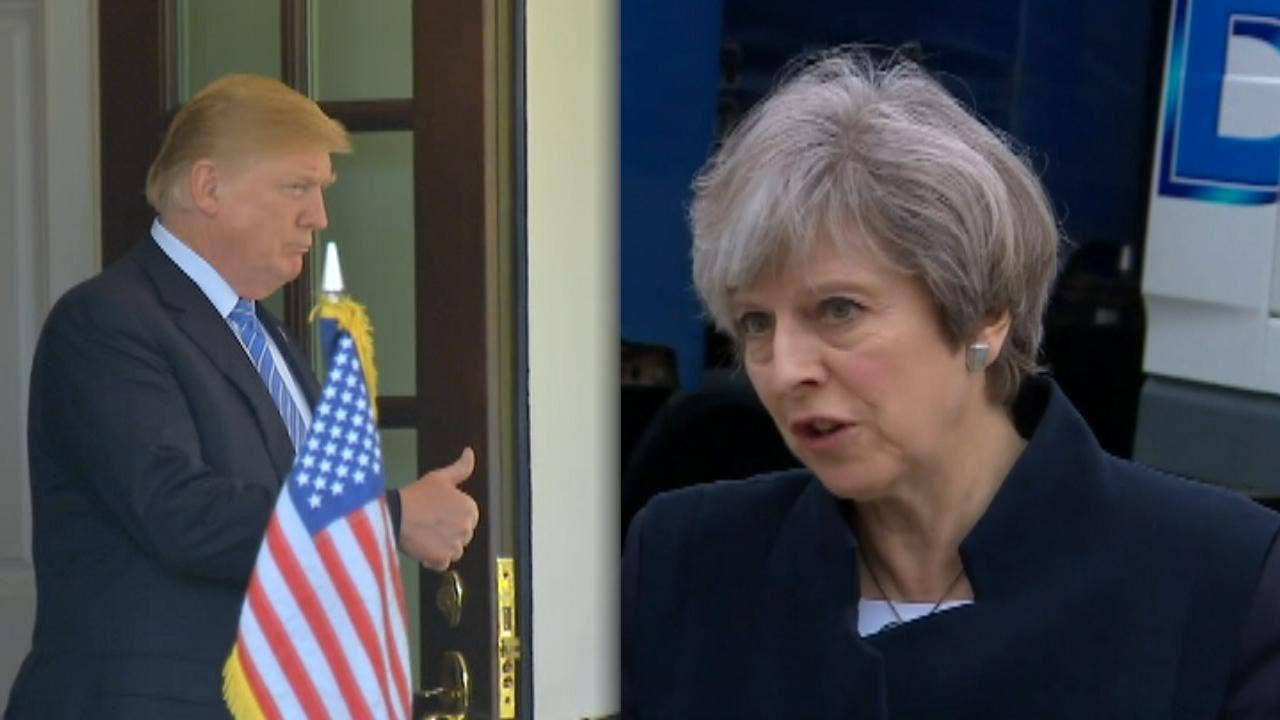 photo image Trump slams May over 'very unfortunate' Brexit plan, says 'I would have done it much differently'