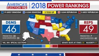Fox News politics editor Chris Stirewalt explains race rating changes for 2018 midterms.