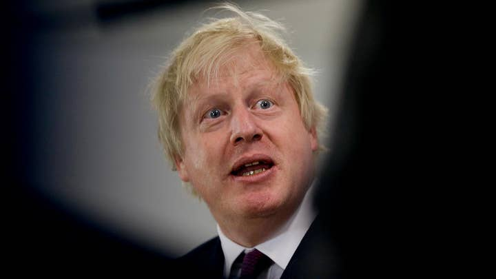 UK Foreign Secretary Boris Johnson resigns