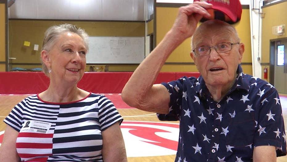 WWII veteran raises money for military kids