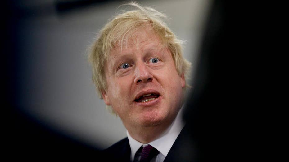 UK Foreign Secretary Boris Johnson resigns