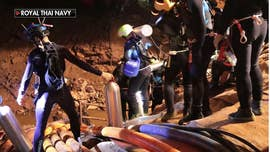 A Thai soccer team of young boys spent more than two weeks trapped in a cave as rescuers fought heavy rains and depleting oxygen levels to get them out.