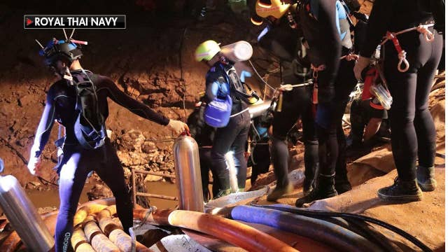 Thai cave: Entire soccer team rescued
