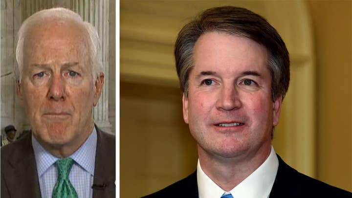 Cornyn: Kavanaugh has been committed to the rule of law