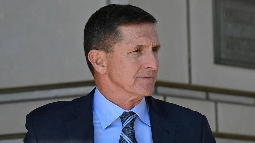 Trump's former national security adviser has not been sentenced six months after his guilty plea for lying to federal investigators; Catherine Herridge reports on the hearing.