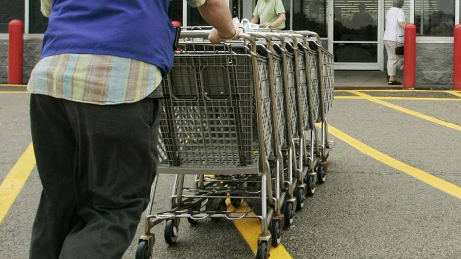 Connecticut police investigating after a woman says she was cut by a razor blade stuck in the handle of a Walmart shopping cart.
