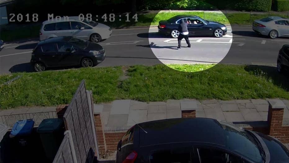 Shocking video: gunman shoots at driver stuck in traffic 3 times