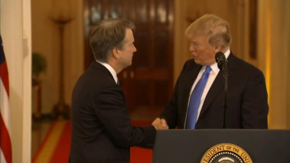 Reactions to Trump's Supreme Court nominee Brett Kavanaugh
