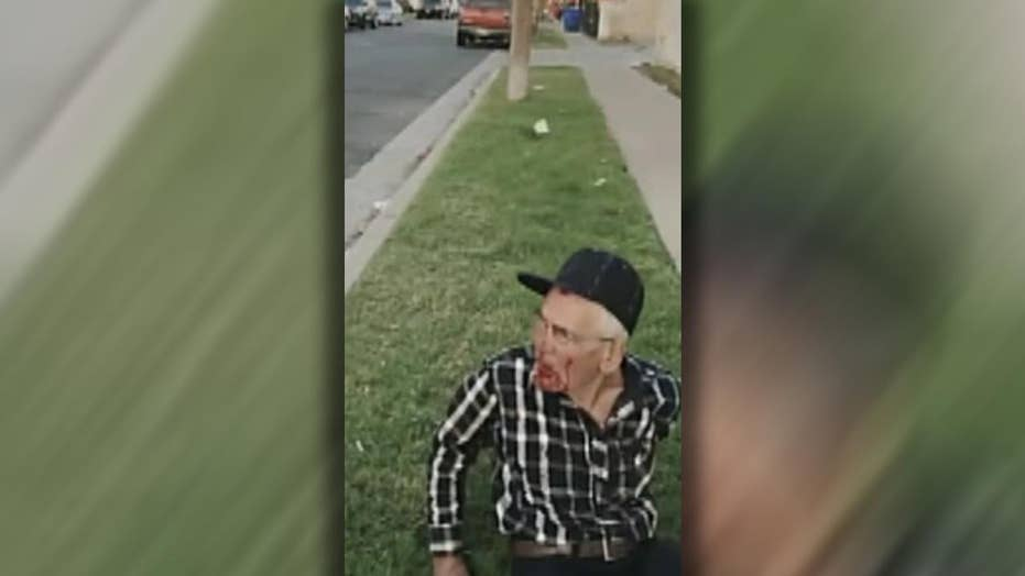 92-year-old man beaten with brick, reports say