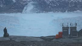 The oldest and thickest sea ice in the Arctic has begun to break up, opening waters that are normally frozen, researchers say.