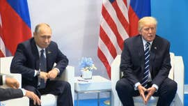"President Trump has arrived in Helsinki, Finland, ahead of a major summit with Russian President Vladimir Putin, saying earlier in the weekend that he has ""low expectations"" but that ""maybe some good"" would come out of the meeting."