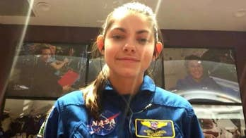 17-year-old Louisiana teen training to be the first human to set foot on Mars. Alyssa Carson shares her story on 'The Story.'