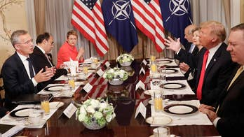 President Trump calls Germany a 'captive of Russia' in tense exchange at NATO summit. Kevin Corke has the latest from Brussels.