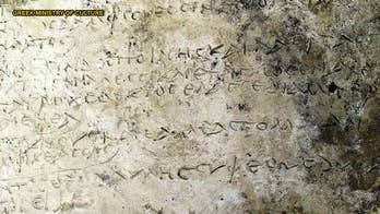 The oldest known written record of Homer's epic poem 'The Odyssey' may have been found at the ancient site of Olympia in Greece. Archaeologists found the clay tablet, which likely dates to the Roman era, near the remains of Temple of Zeus in Olympia.