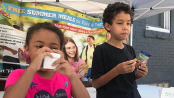 Un-paid do-gooder partners with powerful allies to combat summer hunger.