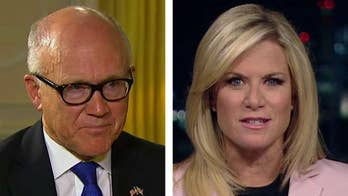 Trump urges NATO to double their defense spending targets; U.S. Ambassador to the U.K. Woody Johnson reacts in a 'The Story with Martha MacCallum' exclusive.