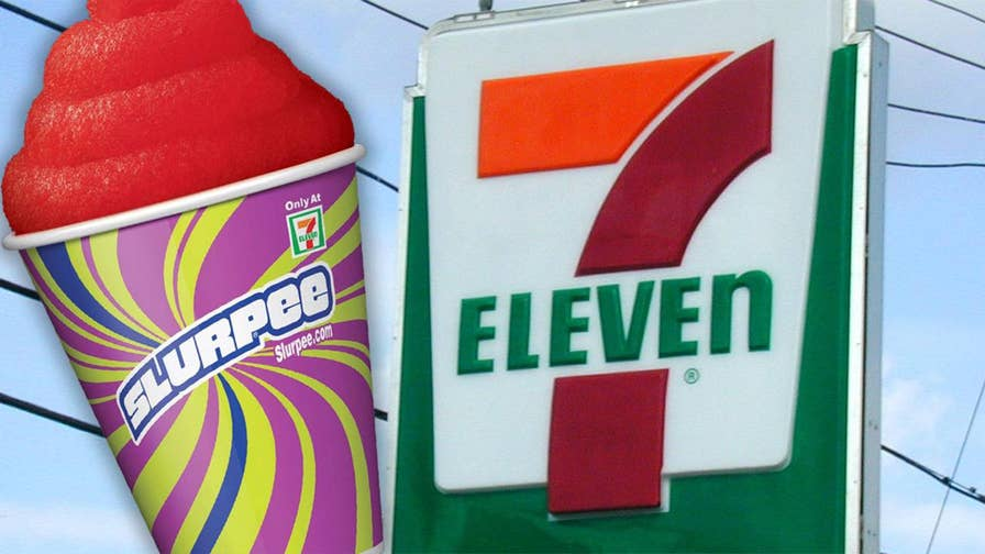 Convenience store offering free treats to customers to celebrate their 91st anniversary.